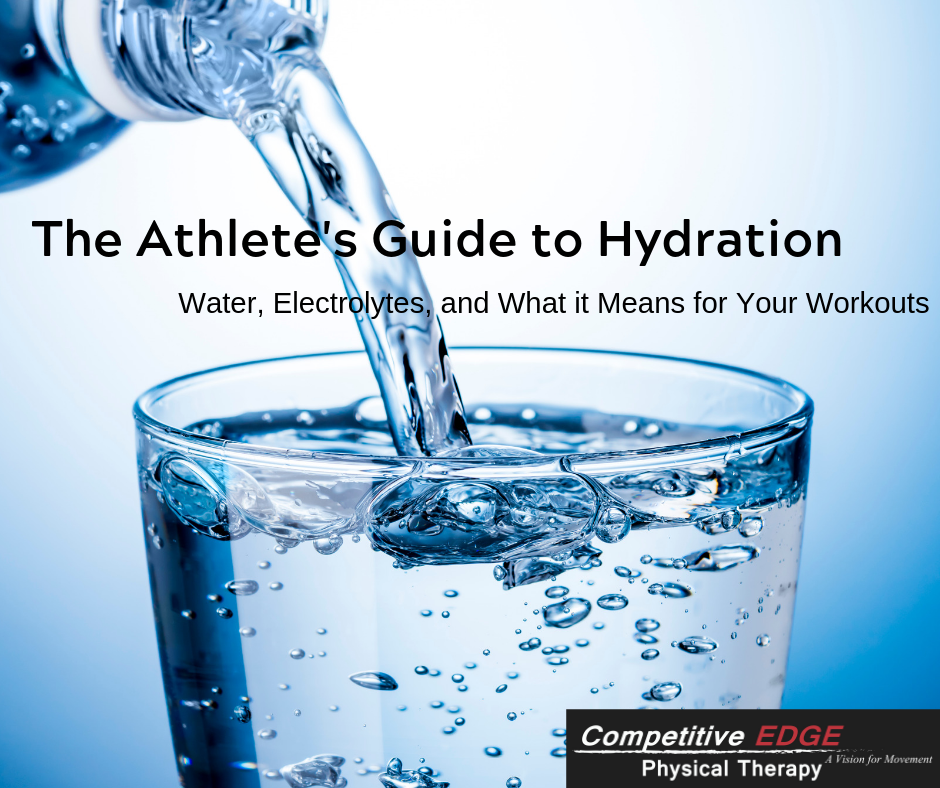Hydration and Working Out: An Athlete's Guide to Water, Electrolytes, and Optimum Performance