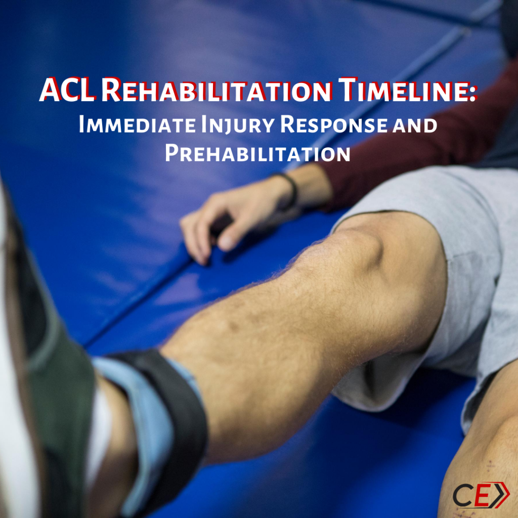 Injury Response and Prehabilitation