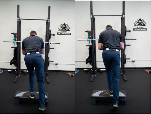 Single-Leg Squat Demonstration