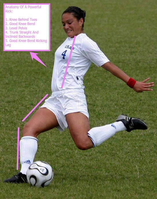 Anatomy of a Powerful Kick