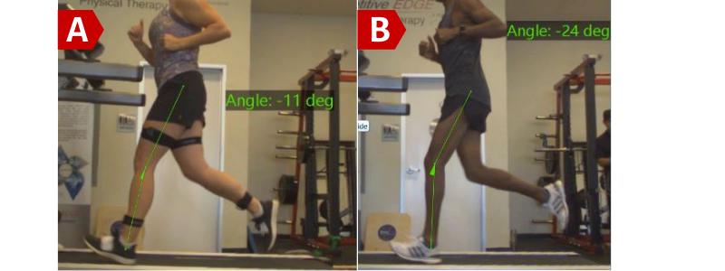 Angle of Knee Bend